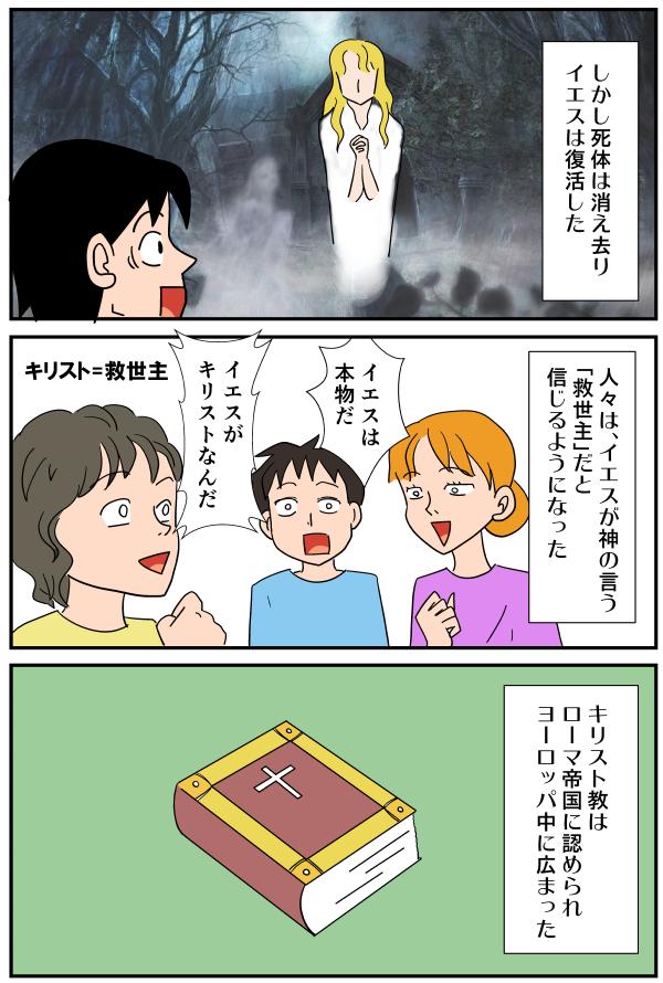 漫画「ユダヤ教・キリスト教・イスラム教とは」10