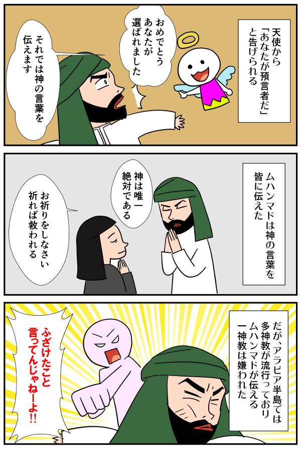 漫画「ユダヤ教・キリスト教・イスラム教とは」12